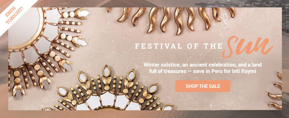 Andes Sale - Save 10% in Peru! SHOP NOW