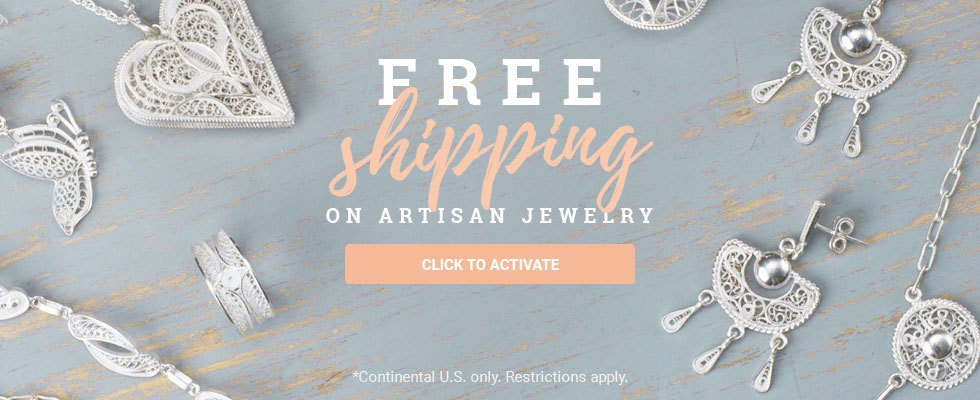 Free Shipping on Artisan Jewelry! Click to Activate.