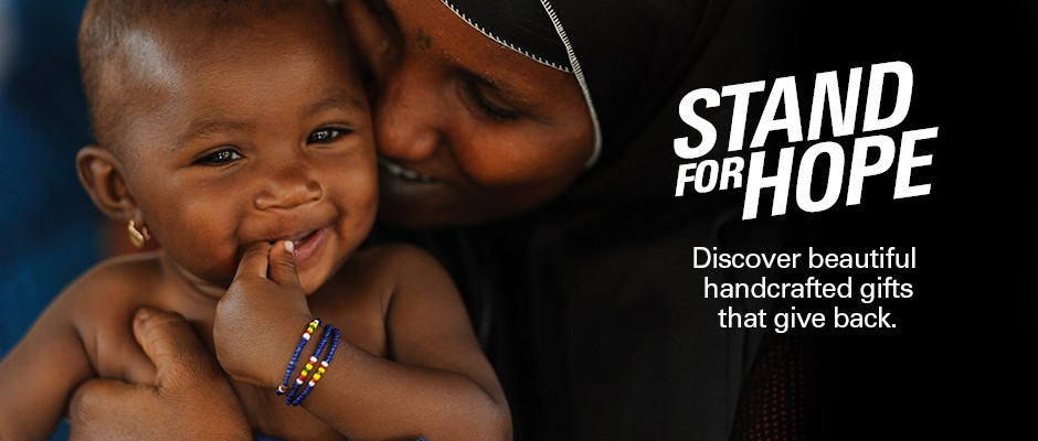 Stand for Hope - discover beautiful handcrafted gifts that give back.