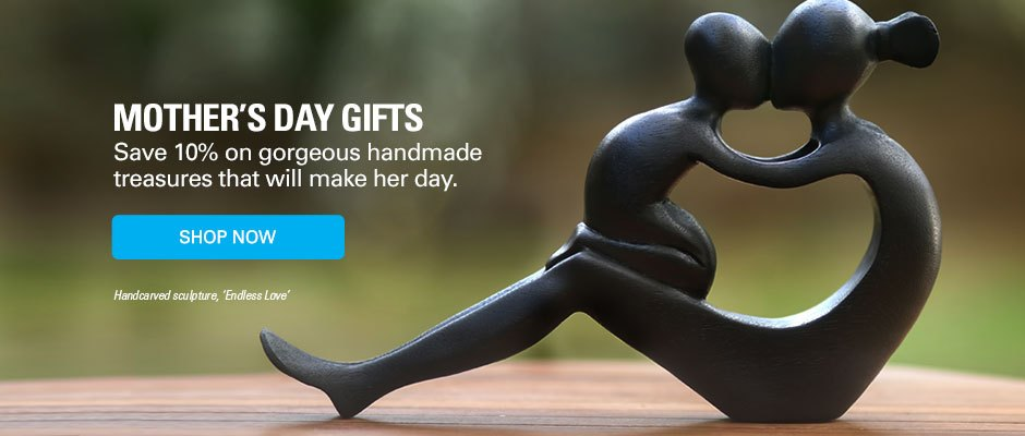 Mother's Day Gifts - Save 10% on gorgeous handmade treasures that will make her day. SHOP NOW